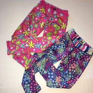 2 Chooze pants—8/10 polyester / spandex (G)